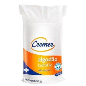 ALGODÃO CREMER HIDROF. 500GR UNI